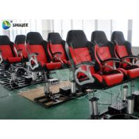 China 4D Cinema Theater With Motion Cinema Chair / Home Theater Chair Customized Color wholesale