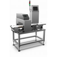 Buy cheap High speed combined metal detection and check weigher machine for metal from wholesalers
