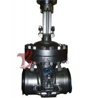 Quality Cast Steel Flex / Solid Wedge Gate Valve With Bypass Valve HF Seal API / DIN Standard for sale