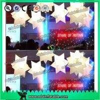 China 1M Wedding Decoration Inflatable Star White Star For Event Hanging Decoration wholesale