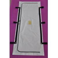 China 8Mil PEVA Body Bags with 6Strap Handles , Envelope Style Cadaver Bags wholesale