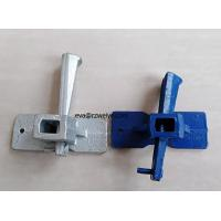 Quality Zinc plated QT450-10 510g paiting wedge coupler formwork clamp in stock for sale