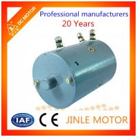 China Electric Bicycle 2400 Rpm Dc Motor Carbon Brushed O.D 114MM F Insulation wholesale
