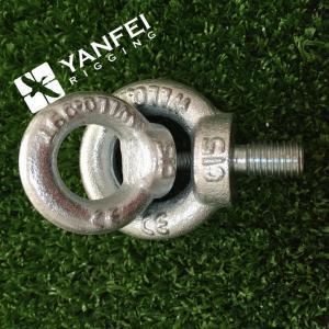 China Qingdao Yanfei Rigging -Rigging Hardware-M6-M8-M10-zinc plated din580 lifting eye bolt wholesale