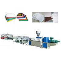 China PVC Crust Foam Plastic Sheet Extrusion Line Automatic Haul off unit wholesale