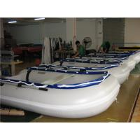 China 14.1 Ft Small Inflatable Water Games , Dive Inflatable Power Boat Abrasion Proof wholesale