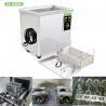 China Digital Timer Heater Adjustable Industrial Ultrasonic Cleaning Tanks 38l Metal wholesale