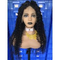 Buy cheap Tangle Free Deep Wave 300% Pre - Plucked Lace Front Wig from wholesalers
