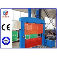 China PVB Guillotine Cutting Machine , Vertical Hydraulic Cutting Machine With Single Blade wholesale