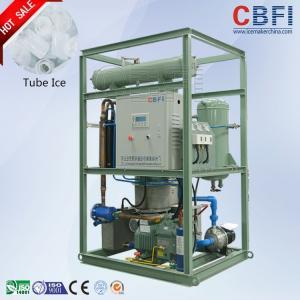 China 20 Tons / Day Ice Tube Machine Large Production Ice Making Machines wholesale