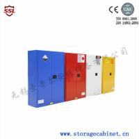 China Red Paint Ink Chemical Storage Cabinet For Flammable Liquids 60 Gallon Free of charge wholesale