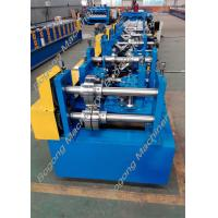 China Automatic Cz Purlin Roll Forming Machine Post Punching Post Cutting wholesale