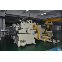 Buy cheap Metal Coil Straightening Machine , Punch Roller Straightener Feeder Stamping from wholesalers