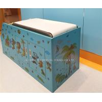Quality Animal Party Pediatric Examination Table , Cartoon Pediatric Exam Table With Cabinet for sale