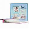 China 4 x 6-inch Screw Post Bound Baby Photo Album, China Professional, 120 Photos Capacity wholesale