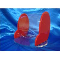Quality Beautiful Acrylic Stationery Holder , Office Stationary Brochure Holder for sale