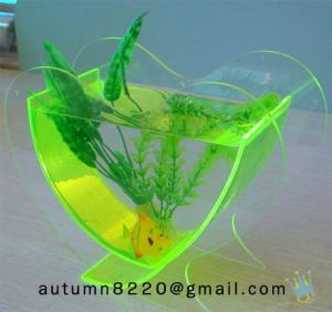 China FT (7)-2 Popular heart shaped acrylic fish tank wholesale
