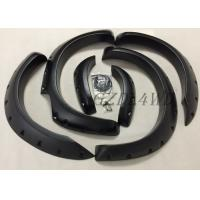 China Ranger T6 2012 2014 ABS Black Plastic Riveted Fender Flares NO Drill Installation wholesale