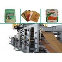 China CE Certification Double Valve Pasted Bottom Sealing Bag Making Machine High Speed wholesale