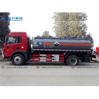 Buy cheap 12Ton 12000L Chemcial Liquid Tank FAW Ammonia Water Delivery Truck from wholesalers