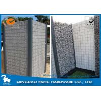 China Quick Building-Up Wire Cages For Stone Walls / Wire Mesh Gabions wholesale