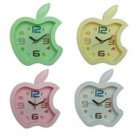 China Apple shape alarm clock for birthday present wholesale