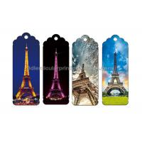 Quality 0.6 PP Customizable 3D Lenticular Bookmark Personalised Bookmarks For Students for sale
