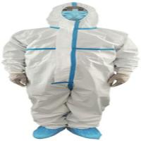 China Antibacterial  Non Woven Disposable Medical Coveralls S - XXXL Full Sizes wholesale