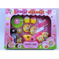 China Multi Colored Dessert Childrens Toy Kitchen Sets For Pretend Role Playing 20 Pcs wholesale