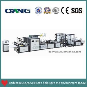 China nonwoven bag making machine on sale