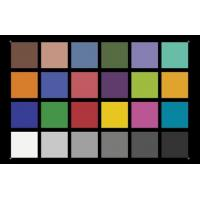 China YE0188 Color Rendition Resolution Test Chart ,  X - Rite Camera Lens Test Chart wholesale