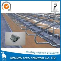 Hot-Dip Galvanized Steel Tube Cattle Free Stall For Dairy Farm 4m Length