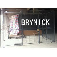 China Access Control 3 Sides Wire Mesh Security Cage , Warehouse Security Cage  20* 10 *10 wholesale