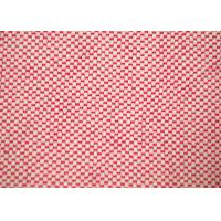 China 100 Cotton Fabric / Red And White Striped Fabric For Furniture Upholstery on sale