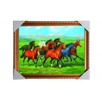 Quality 3D Art Custom Lenticular Printing Pictures Offset Print PS Frame For Home for sale