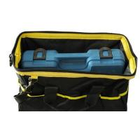 Quality Black and Yellow Heavy Duty Tool Bag For Electrical / Garden / Networking for sale