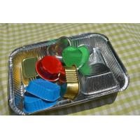 Quality Turkey Aluminium Foil Container , Food Grade Aluminum Foil Packaging 178*125 for sale