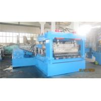 Buy cheap 2 - 4mm Thickness Culvert Sheet Metal Roll Forming Machine With Track Cutting System 50HZ from wholesalers