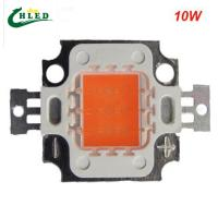 China 10w led grow light chip cob full spectrum 380-840nm DIY led grow light chip for growth a wholesale