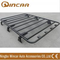 Buy cheap No Frame Cargo Carrier Black Roof Rack Basket Luggage Rack Aluminum Or Steel Material product