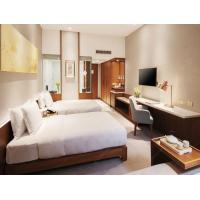 China Twin Room Apartment Furniture Sets With MDF Or Plywood Panel wholesale