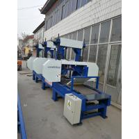 China Horizontal Multiple heads log cutting portable band saw mills for sale wholesale
