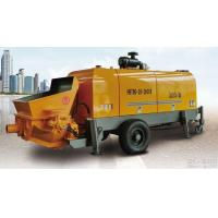 80m3 per hour diesel engineportable hydraulic trailer concrete pump