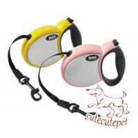 China retractable dog leash multi colors are available wholesale