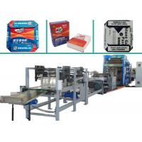 Quality Automatic Heavy Products Bottom Seal Bag Making Machine With 4 Colors Printing for sale