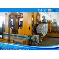 China Heavy Duty Welding Pipe Machine Automatic For Low Carbon Steel Max 25.4mm Thick wholesale