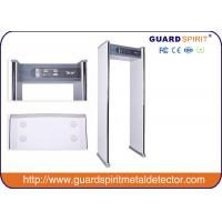 China 700 Mm Width Channel Walk Through X Ray Machine , Pass Through Metal Detector Safety wholesale