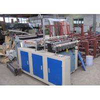 China 800mm hot sealing cold cutting plastic bag making machine wholesale