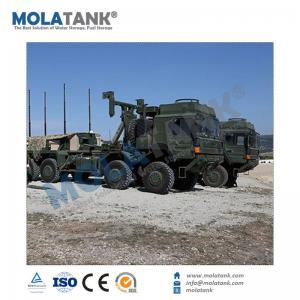 China Mola Tank PVC coated canvas foldable heavy duty rectangular plastic tanks 500000 liter on sale