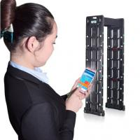 Buy cheap Infrared Metal Detector Door Frame Non - Condensing Humidity With 7 Inch Touch Screen from wholesalers